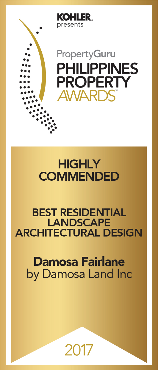 DamosaLand - Philippines Property Award - Best Residential Landscape Architectural Design